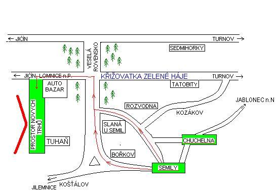 Mapka Tuhaň